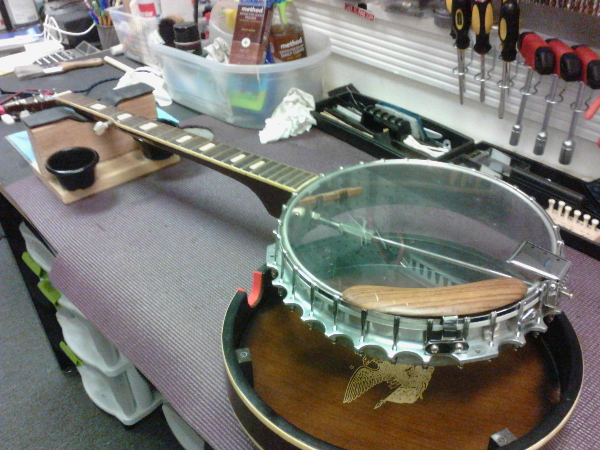 banjo repair